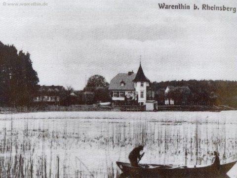 Historisches Bild von Warenthin um 1910
