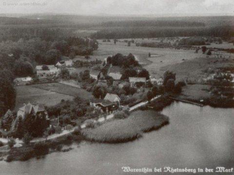 Historisches Bild von Warenthin um 1920