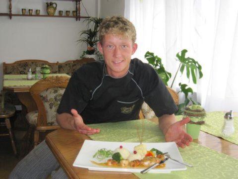 Unser Koch Mike Mischke