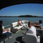 Eine Bootsfahrt ist Erholung pur