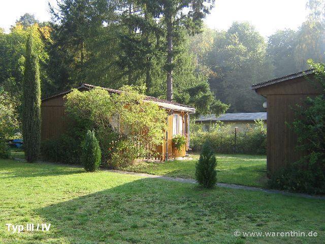 Das Sonnengrundstück der Bungalowvermietung in Rheinsberg - Warenthin