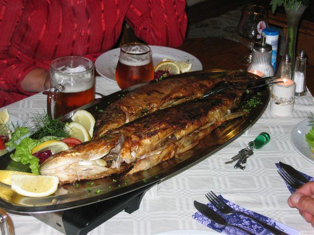 """Leckeres Essen im Gasthaus """"Am Rheinsberger See"""""""