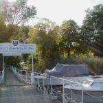 "Bootssteg des Gasthauses ""Am Rheinsberger See"""