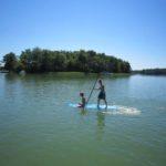 Der Rheinsberger See ist ideal für jede Art von Wassersport.