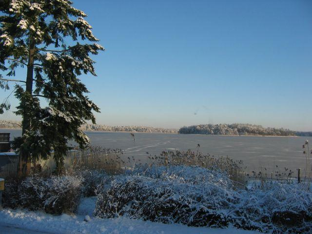 Der Winter verzaubert alles, auch Warenthin