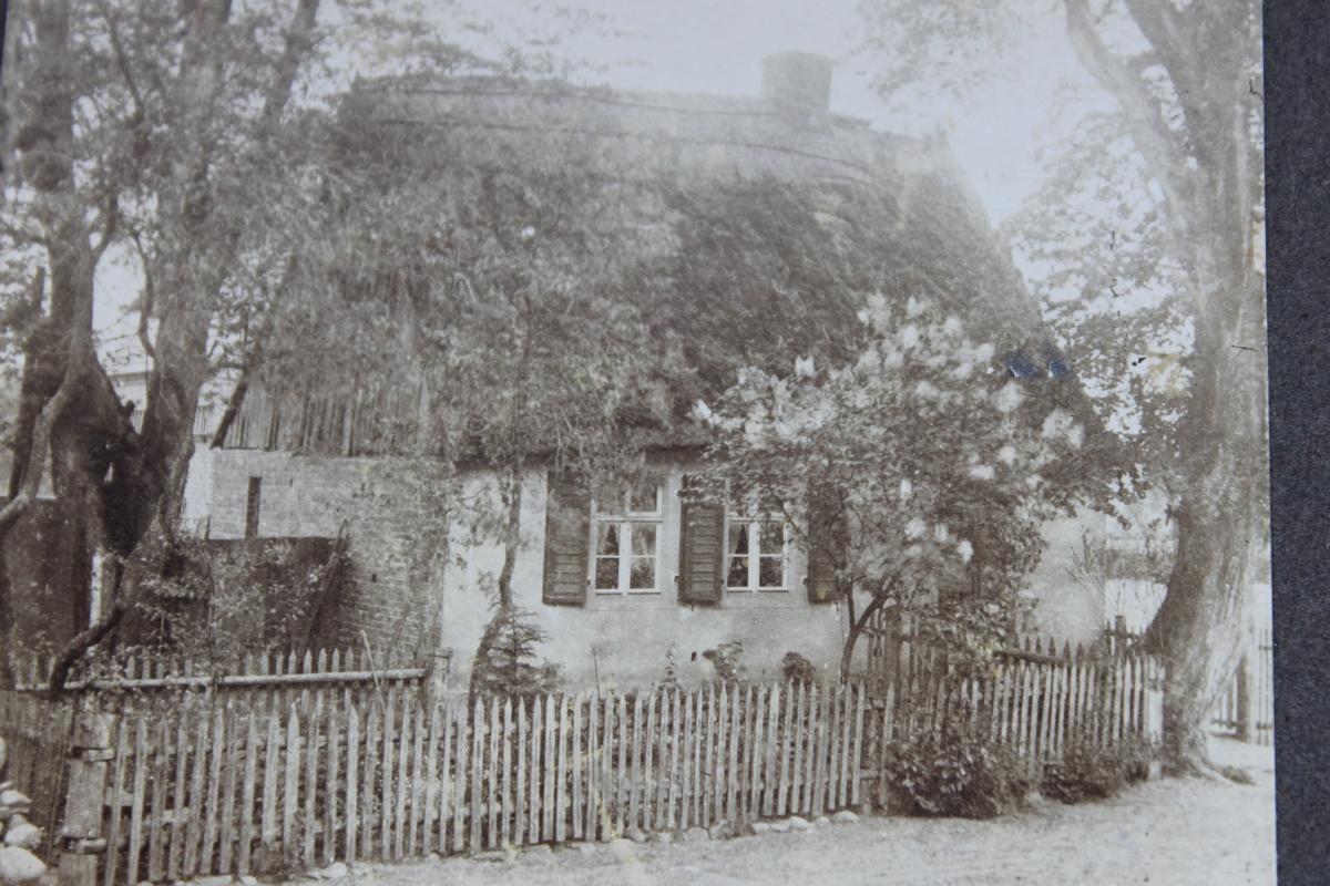 Waldarbeiterhaus um 1900